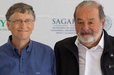 "Terkaya Lagi, Harta Bill Gates Selisih ""Tipis"" dengan Slim"