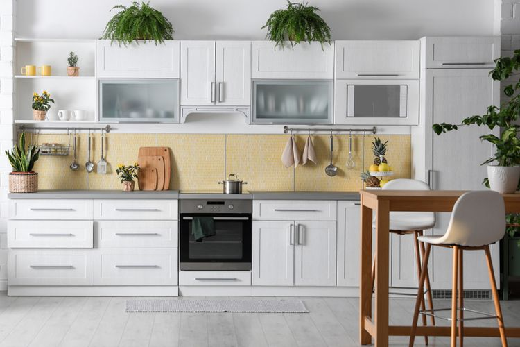 Ilustrasi dapur minimalis.
