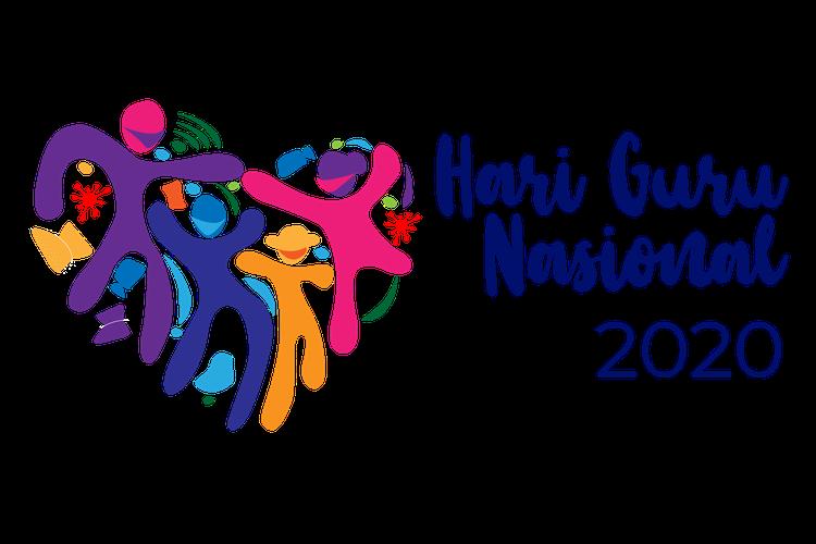 Ilustrasi logo Hari Guru Nasional (HGN) 2020