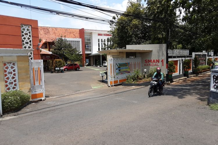 SMAN 1 Kendal Jawa Tengah. KOMPAS.COM/SLAMET PRIYATIN