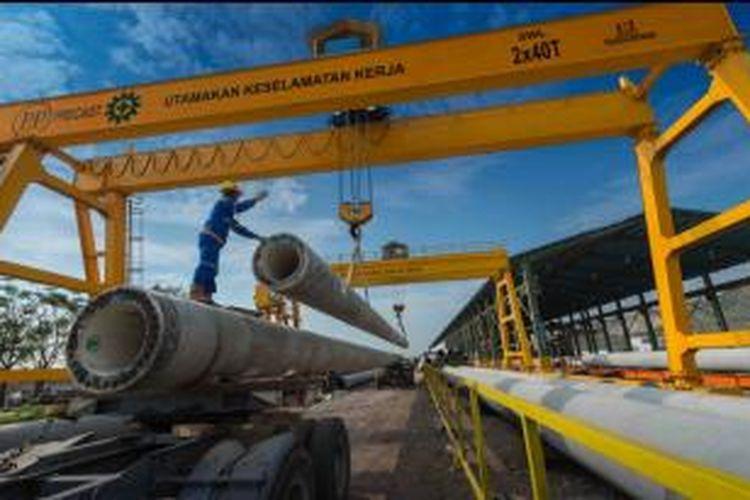 Pencapaian order book tahun 2013 sebesar Rp 35,45 triliun yang berasal dari kontrak baru sebesar Rp 19,58 triliun dan carry over 2012 sebesar Rp 15,87 triliun.