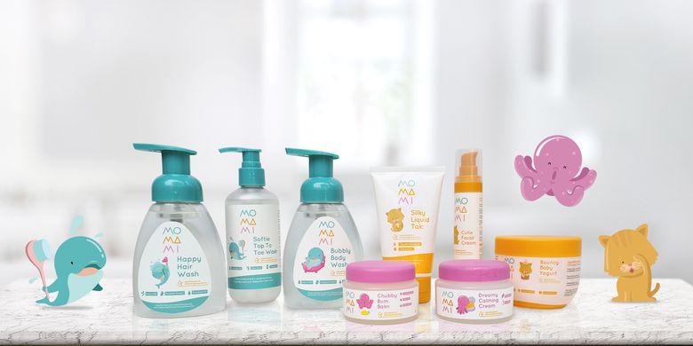 Rangkaian produk baby care dari Momami.