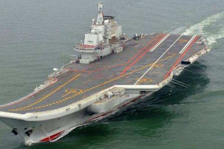 Kapal induk AL China, Liaoning.