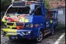 Mobil Pick Up Tabrak 4 Motor di Kebagusan, Seorang Tewas