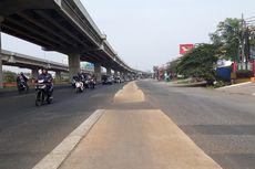 Salahi Aturan, Trotoar di Tengah Jalan Raya Kalimalang Segera Dibongkar