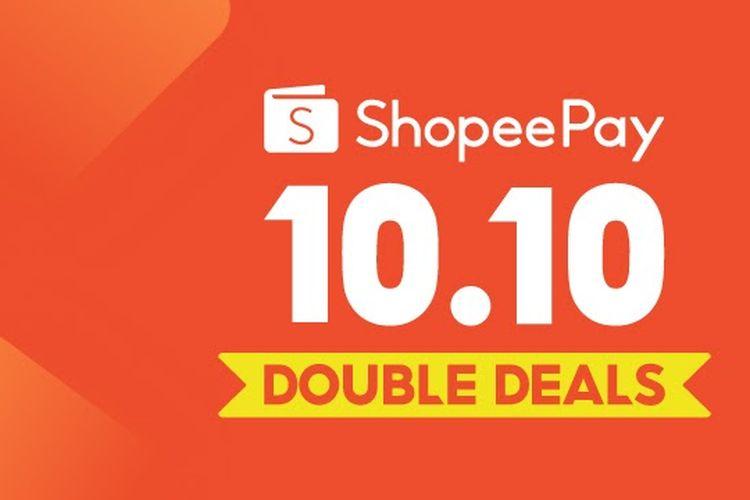 Lewat kampanye 10.10 ShopeePay Double Deals, ShopeePay mengajak para pengguna untuk menjajal transaksi nontunai yang memiliki berbagai keuntungan dan promo menarik.