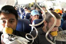 Banyak Penumpang Southwest Tak Pakai Masker Oksigen dengan Benar