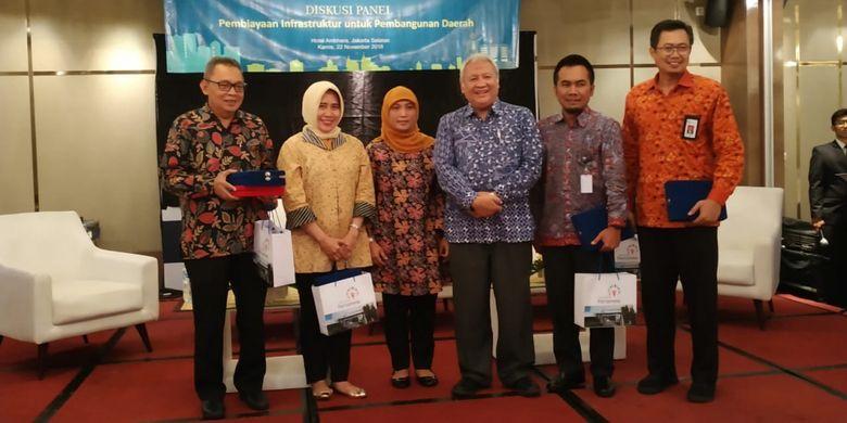 Universitas Pertamina bersama Asosiasi Pemerintah Kota Seluruh Indonesia (APEKSI) menyelenggarakan diskusi panel di Jakarta, Kamis (22/11/2018), mengangkat tema Pembiayaan Infrastruktur untuk Pembangunan Daerah