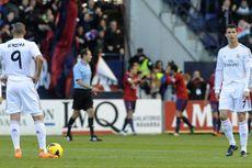Osasuna Unggul 2-1 atas 10 Pemain Madrid