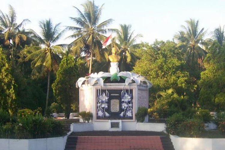 Monumen Maria Walanda Maramis di Minahasa Utara