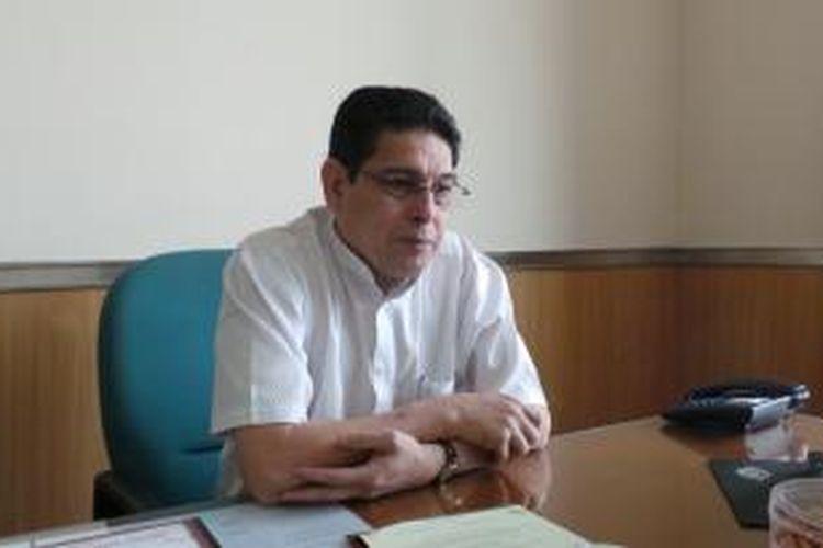 Anggota Komisi C DPRD DKI, Fraksi Partai Demokrat, Ahmad Husin Alaydrus