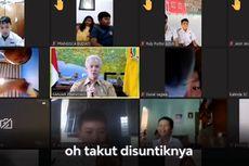 Ganjar Cerita Pengalaman Mengantuk Usai Divaksin, Siswa SD: Soalnya Pak Gubernur Sudah Tua