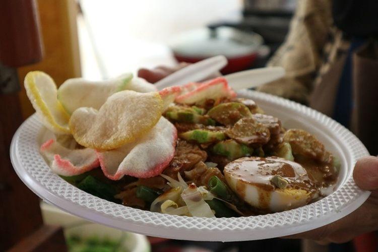 Salah satu hidangan di Pekan Kebudayaan Nasional 2019.