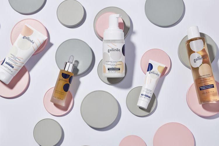 Produk perawatan wajah mengandung bakteri baik, Gallinee.