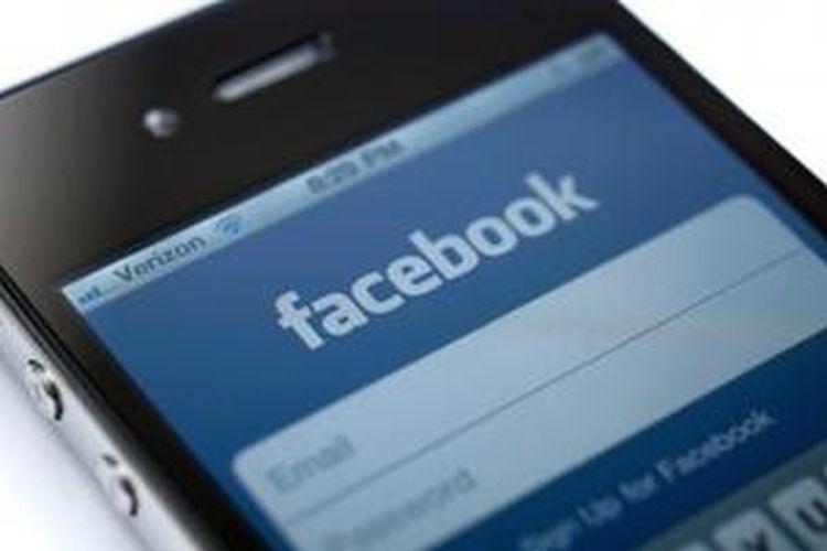 Aplikasi Facebook di iPhone