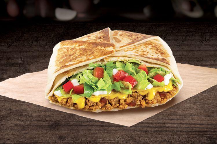 Crunchwrap Supreme, salah satu menu andalan yang ada di Taco Bell