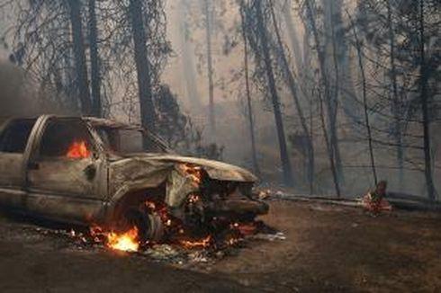 Kebakaran di Taman Nasional Yosemite, San Francisco Terancam