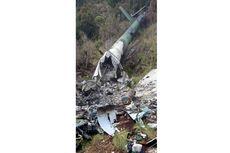 Beredar Foto Bangkai Heli di Papua, Diduga Heli MI-17 Milik TNI yang Hilang
