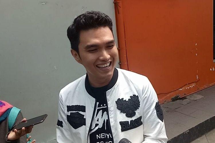 Aldi Taher saat diwawancara di kawasan Tendean, Jakarta Selatan, Rabu (8/11/2017).