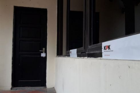 Ruang Kadis PUPR Pemkab Bekasi Disegel Pasca-OTT KPK