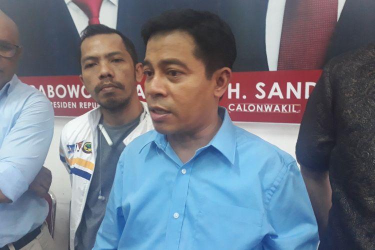 Ketua BPP Prabowo-Sandi Jawa Timur, Soepriyatno