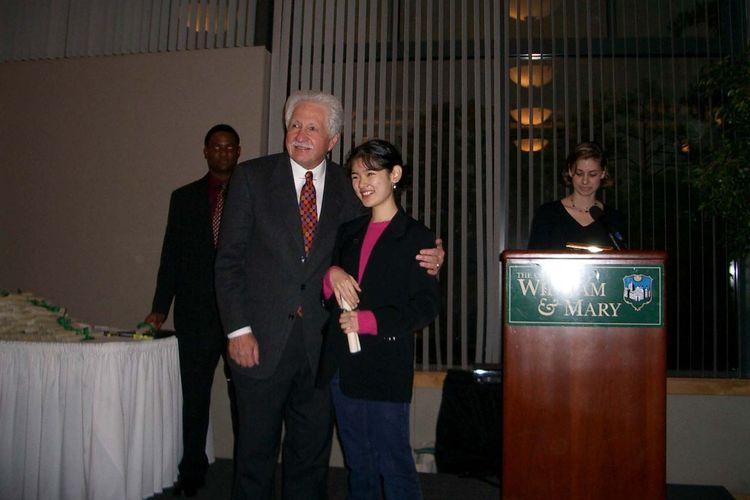 Audrey Yu Jia Hui di The College of Willliam and Mary, Virginia, Amerika Serikat.