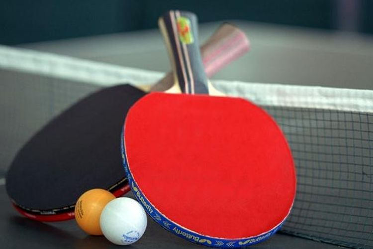 Ilustrasi tenis meja