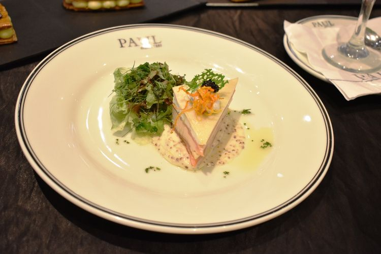 Millefeuille Crepe Smoked Salmon