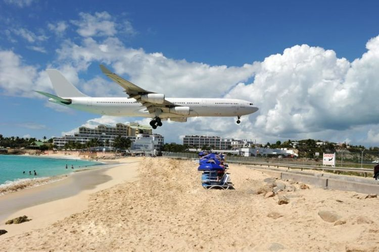 Bandara Internasional Princess Juliana di St. Maarten