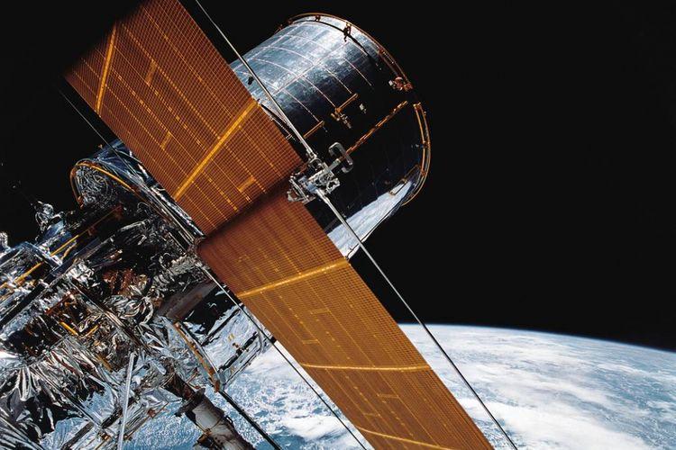 Ilustrasi teleskop Hubble