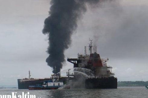 Basarnas: Api di Teluk Balikpapan Sudah Padam