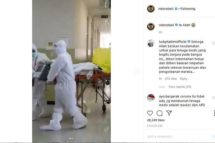 Video perawat di RS Royal Surabaya yang diduga terjangkit Covid-19 dalam kondisi hamil 4 bulan