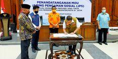 Percepat Penyaluran, 9 Daerah Tanda Tangani MoU Bantuan Pangan JPS dengan Pemprov Jatim
