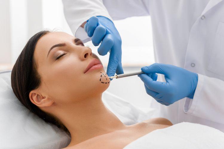 Ilustrasi perawatan wajah