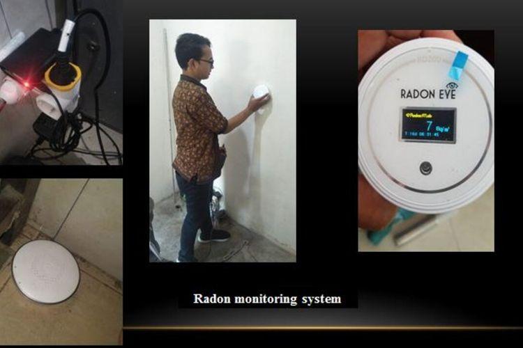 Sistem Peringatan Dini berupa alat deteksi gempa yang dikembangkan oleh Universitas Gadjah Mada (UGM). Alat ini mendeteksi gempa di Toli-Toli Tiga hari sebelum kejadian. (Foto Dokumentasi Humas UGM)