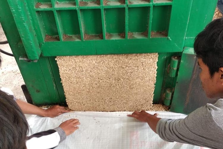 Direktur Jenderal Tanaman Pangan Kementerian Pertanian (Kementan) Suwandi menjelaskan tongkol jagung yang merupakan sumber serbuk tongkol jagung adalah produk sampingan dari pemipilan jagung tersentralisasi untuk kebutuhan khusus industri sapi perah.