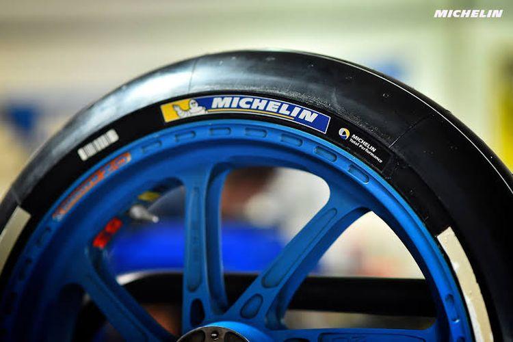 Ban balap Michelin yang digunakan di MotoGP