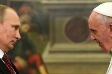 Paus Fransiskus dan Presiden Rusia Bahas Timteng di Vatikan