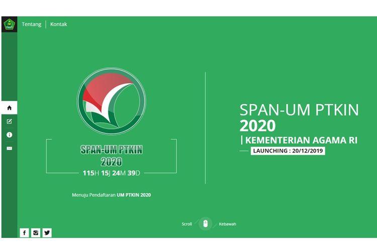 SPAN-UM PTKIN 2020 Kementerian Agama RI