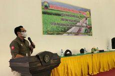 Lewat Program Padat Karya, Kementan Libatkan Petani Lampung Bangun Jaringan Irigasi