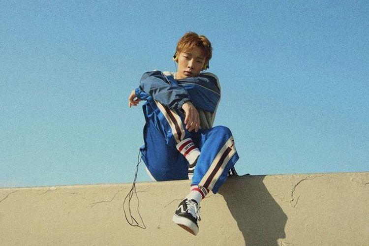 Rapper dari boyband iKON, Bobby.