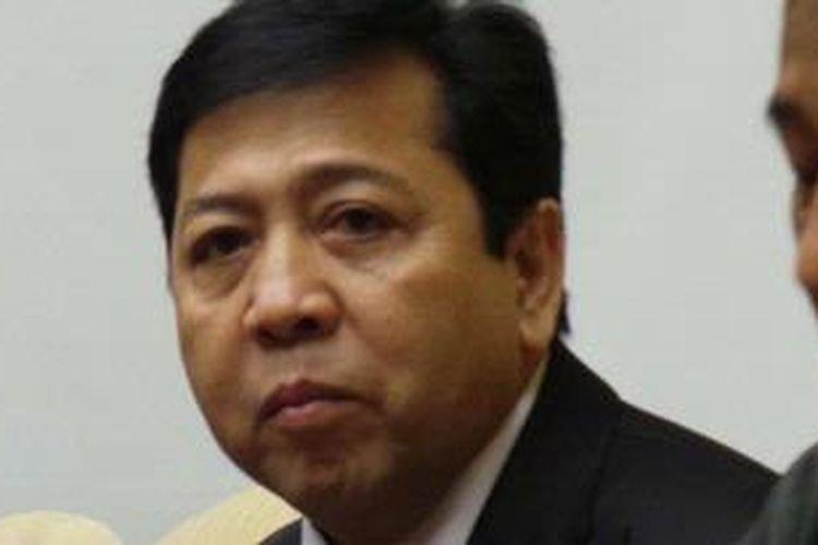 Ketua Fraksi Partai Golkar Setya Novanto.