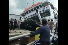 Viral Video Detik-detik Kapal Feri KMP Bili Terbalik di Pontianak, Bagaimana Ceritanya?