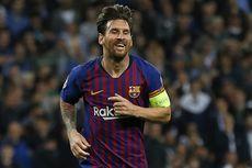 Barcelona Vs Espanyol, Rekor Lionel Messi di Derbi Catalan