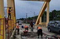 Pemeliharaan Jembatan Sungai Bojo Selesai Akhir Mei 2021