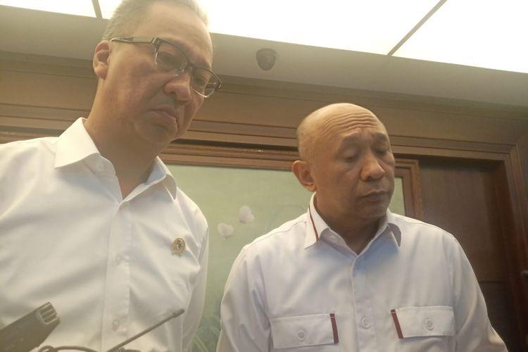 Menteri Koperasi dan UKM Teten Masduki di Jakarta, Kamis (26/12/2019)