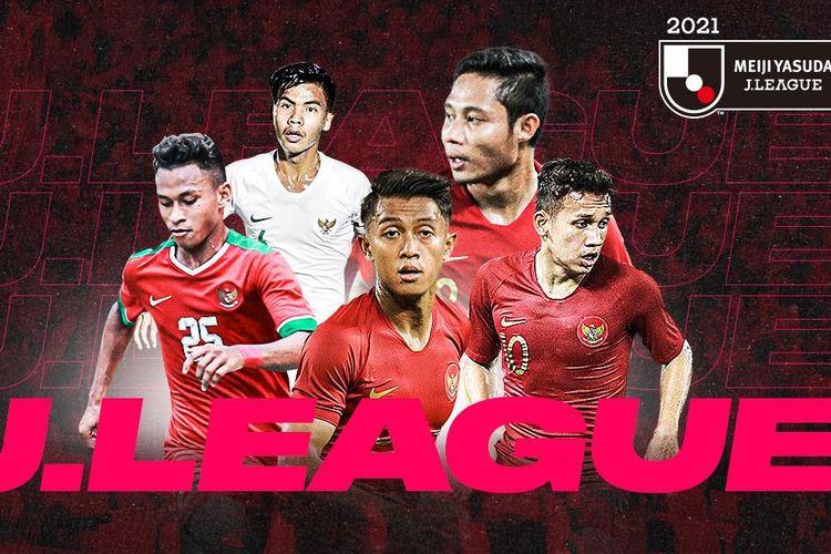 Terdapat beberapa pesepak bola Indonesia yang dinilai paling layak untuk bisa berkiprah di kompetisi sepak bola Jepang, J-League.