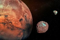 Jepang Berencana Mengirim Sampel Permukaan Bulan Mars pada 2029