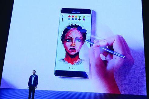 Pena Galaxy Note 7 Bisa Dipakai di Dalam Air