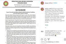 PGRI Minta Pemerintah Revisi PP Nomor 57 Tahun 2021